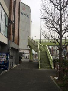西長堀駅からの道順4