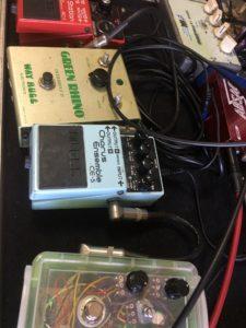 ギター教室のエフェクター