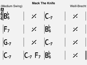 マックザナイフのコード