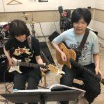 大倉ギター教室講師と生徒