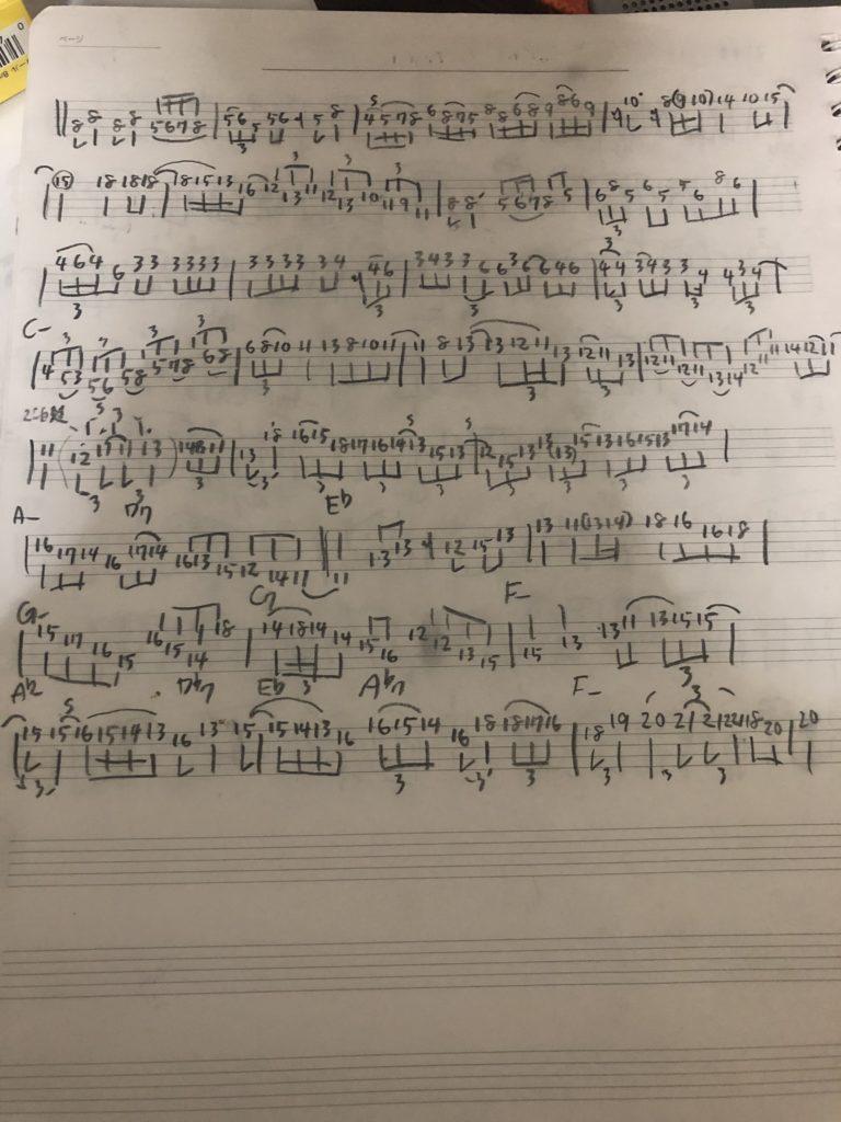 ギラッドヘクセルマン楽譜4