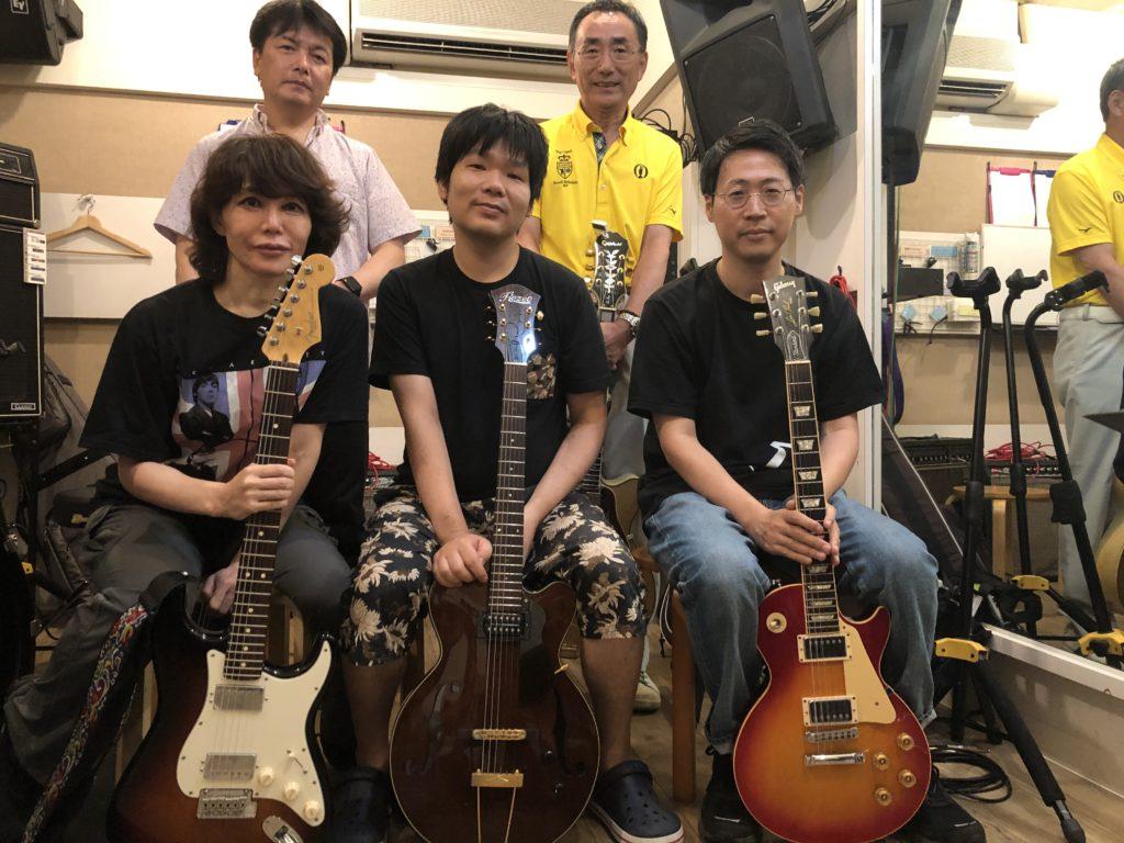 大倉ギター教室ジャズギター練習会