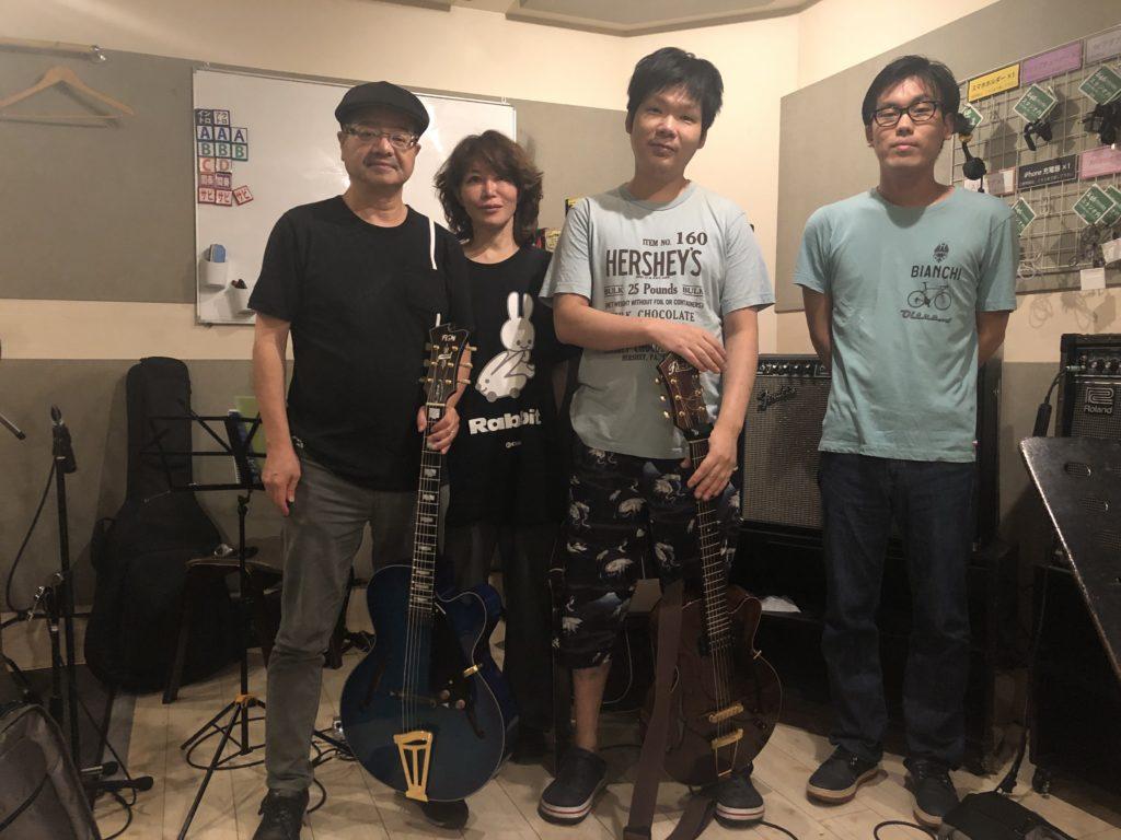 i8/28ジャズギター練習会