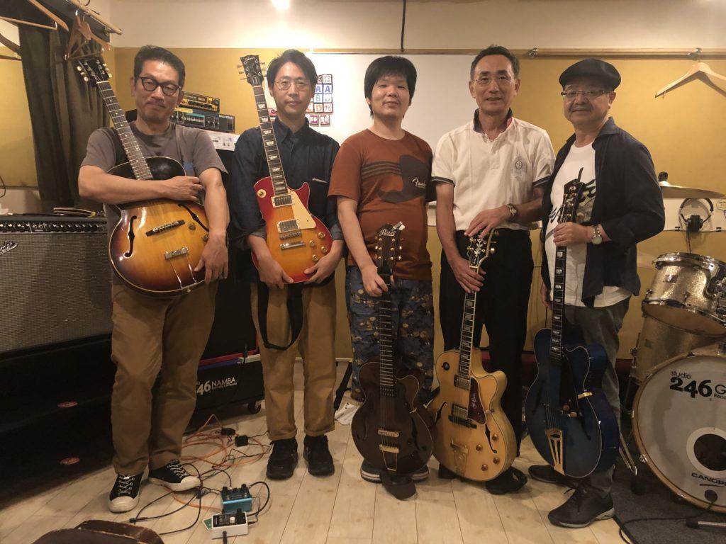 ジャズギター練習会